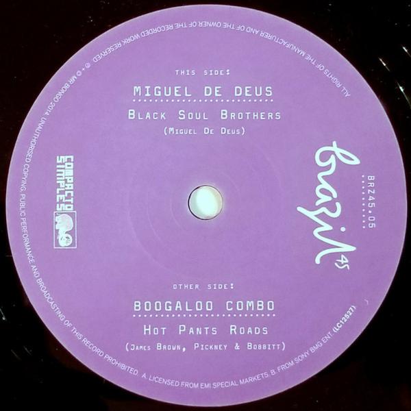 Boogaloo Combo / Miguel De Deus - Hot Pants Roads / Black Soul Brothers (7