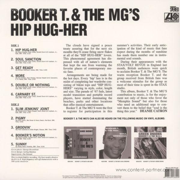 Booker T & MG's - Hip Hug-Her (Back)