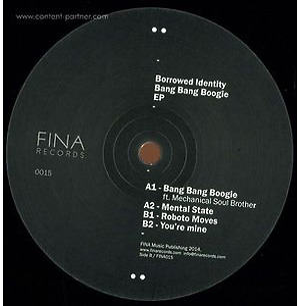 Borrowed Identity - Bang Bang Boogie Ep