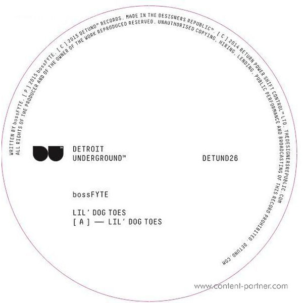 Bossfyte - Lil' Dog Toes (Back)
