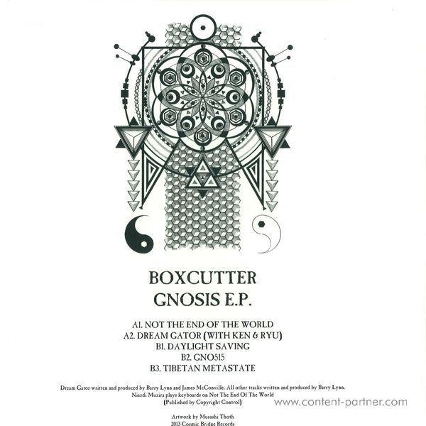 Boxcutter - Gnosis EP (Back)