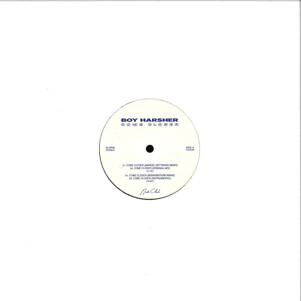 Boy Harsher - Come Closer (Marcel Dettmann Remix) (Back)
