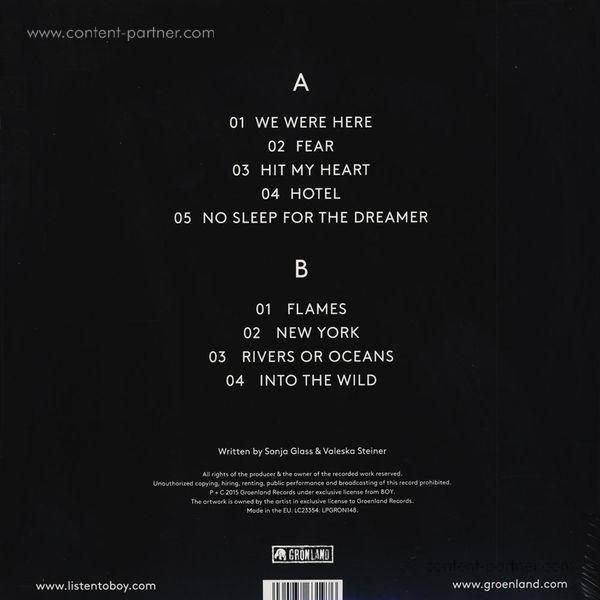Boy - We Were Here (LP+CD/Gatefold) (Back)