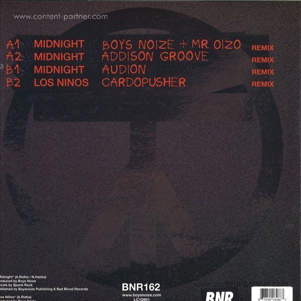 Boys Noize - Midnight Remix EP (Back)