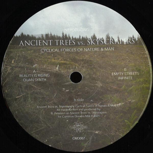Brad Peterson presents Ancient Trees vs Skyscraper - Cyclical Forces Of Nature & Man (180 gram vinyl 12