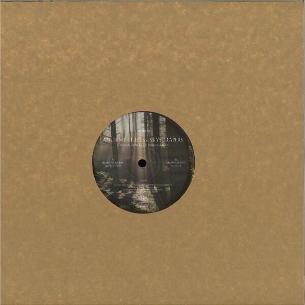 Brad Peterson presents Ancient Trees vs Skyscraper - Cyclical Forces Of Nature & Man (180 gram vinyl 12 (Back)