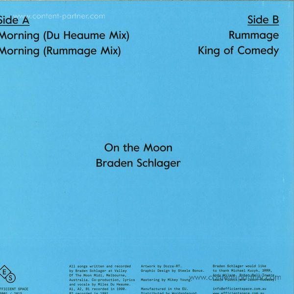 Braden Schlager - On The Moon (Back)