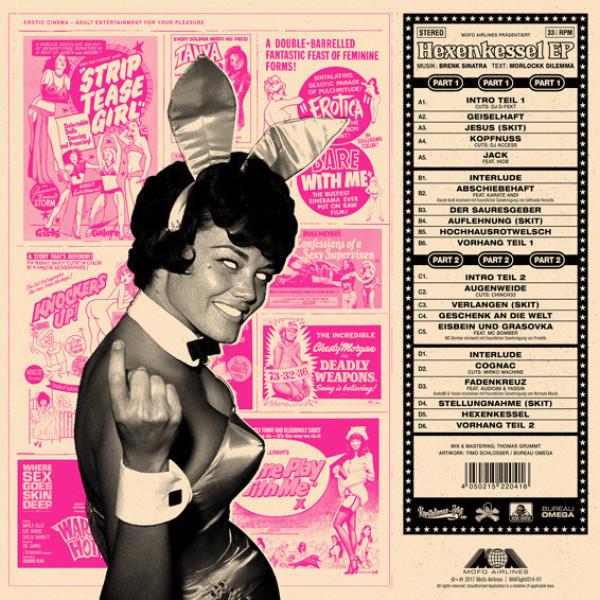 Brenk Sinatra & Morlockk Dilemma - Hexenkessel EP 1+2 (Back)