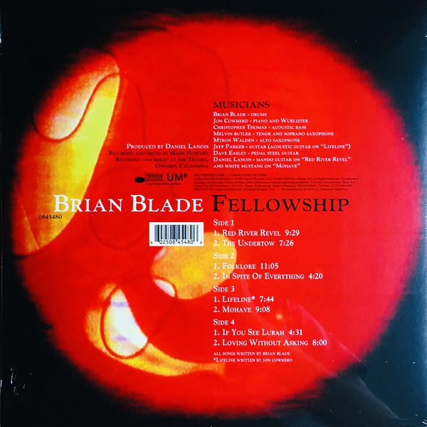 Brian Blade Fellowship - Brian Blade Fellowship (180g Reissue) (Back)