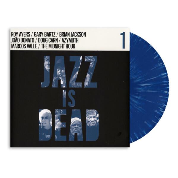 Brian Jackson w. Adrian Younge & Ali Sh. Muhammad - Jazz Is Dead 08 - Brian Jackson (Ltd Blue Vinyl)