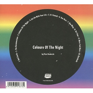 Broderick,Peter - Colours Of The Night (Back)