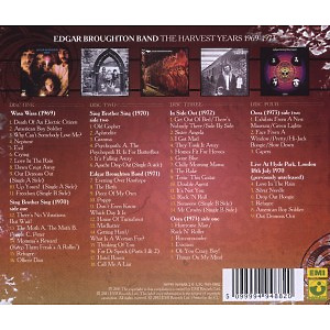 Broughton,Edgar Band - The Harvest Years (1969-1973) (Back)