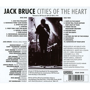 Bruce,Jack - Cities Of The Heart (Remastered) (Back)