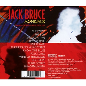 Bruce,Jack - Monkjack (Remastered Edition) (Back)