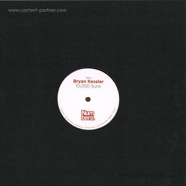 Bryan Kessler - 10,000 Suns (Back)