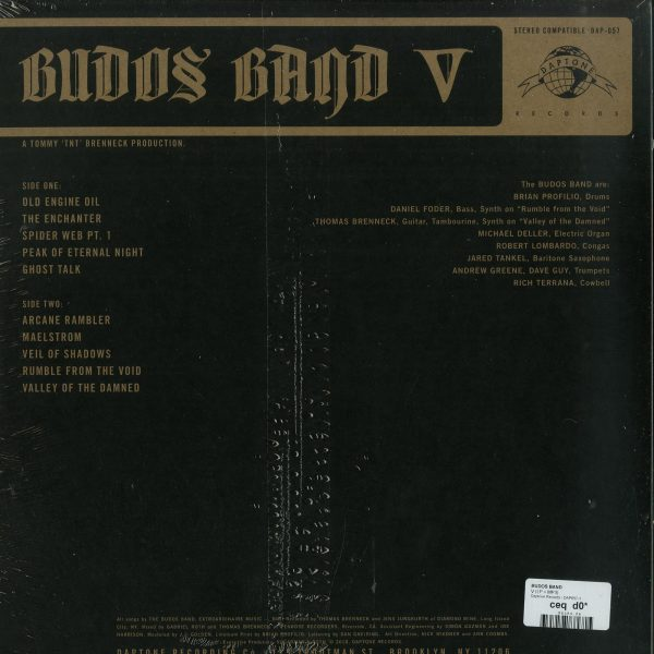 Budos Band - V (LP+MP3) (Back)