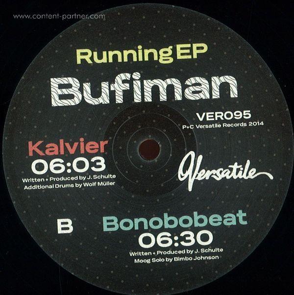 Bufiman - Running EP (Back)