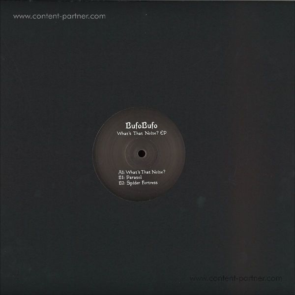 BufoBufo - What's That Noise? EP (Back)