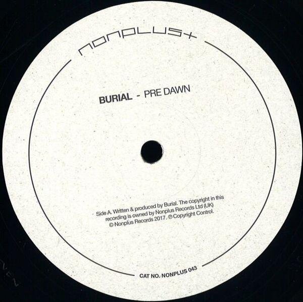 Burial - Pre Dawn / Indoors