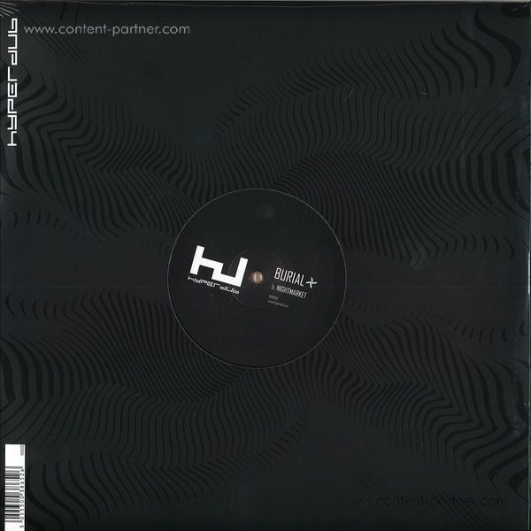 Burial - Young Death / Nightmarket (Back)
