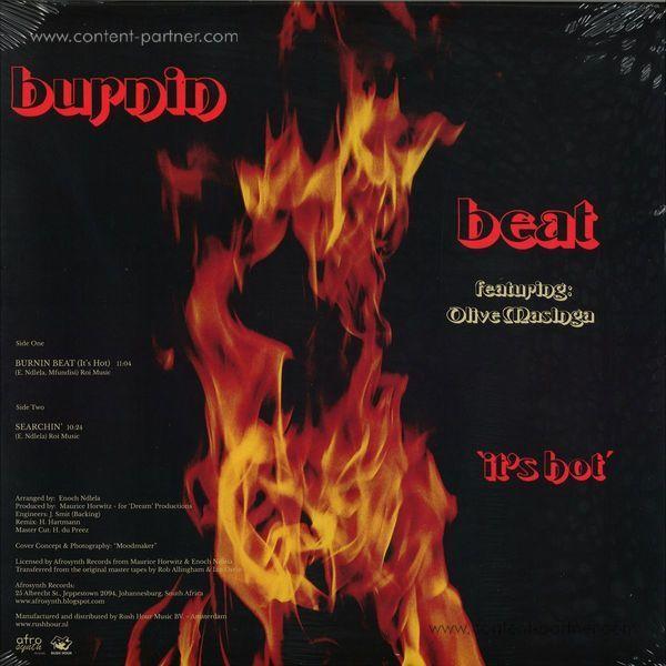 Burnin Beat Feat. Olive Masinga - It's Hot (Back)