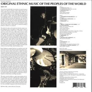 Burnt Friedman - Musical Traditions in Central Europe - Explorer Se (Back)