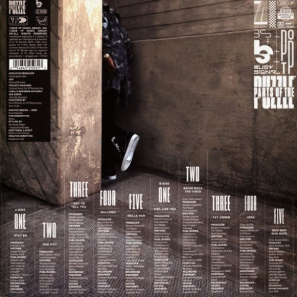 Busy Signal - Parts Of The Puzzle (LP) (Back)