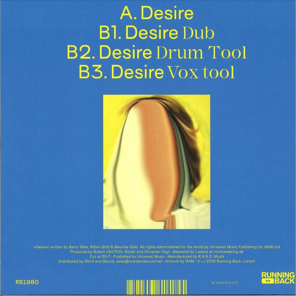 Butch & C. Vogt - Desire Summer Part 1 (Back)