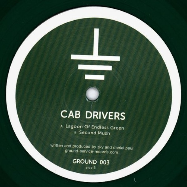 CAB DRIVERS - LAGOON OF ENDLESS GREEN / SECOND MUSH (GREEN TRANS (Back)