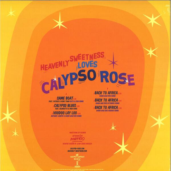 CALYPSO ROSE - HEAVENLY SWEETNESS LOVES CALYPSO ROSE (Back)