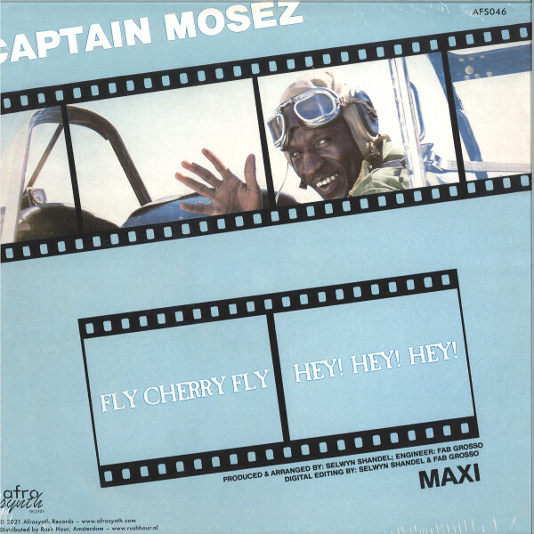 CAPTAIN MOSEZ - FLY CHERRY FLY (Back)