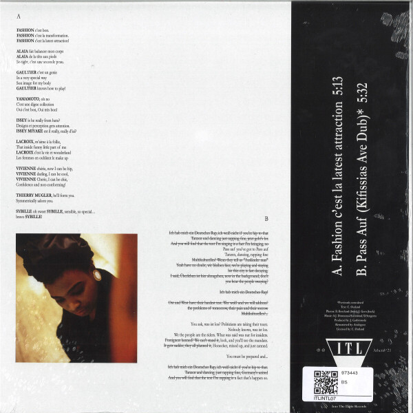 CHAPEAU CLAUDETTE - FASHION C'EST LA LATEST ATTRACTIO (Back)