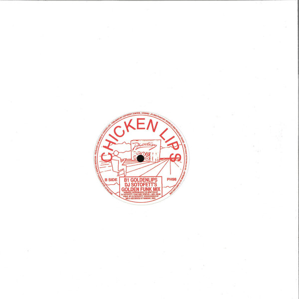 CHICKEN LIPS - Goldenlips (incl. DJ Sotofett Remix) (Back)