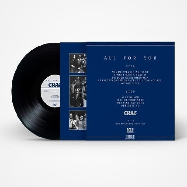 CRAC - All For You (Reissue) (Back)
