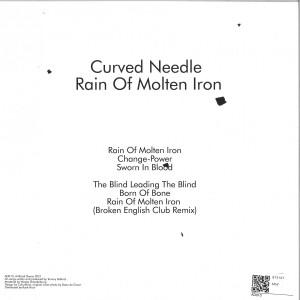 CURVED NEEDLE - RAIN OF MOLTEN IRON (Back)