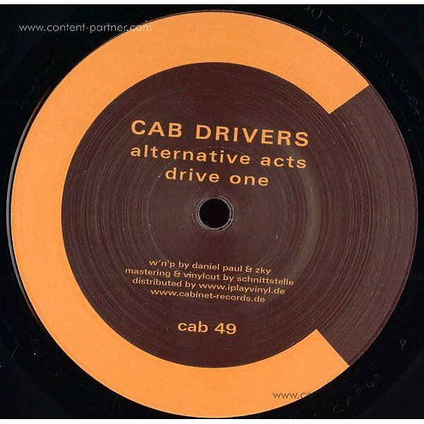 Cab Drivers - Alternative Acts