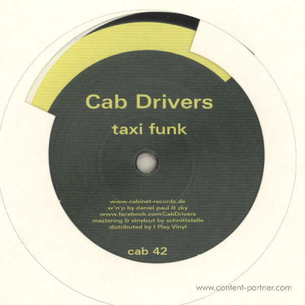 Cab Drivers - Taxi Funk Bon Bon (Back)