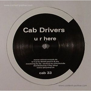 Cab Drivers - u r here & five (2015 repress)
