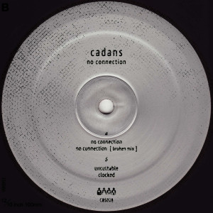 Cadans - No Connection