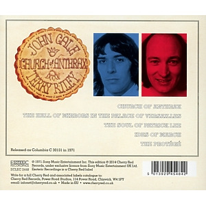 Cale,John/Riley,Terry - Church Of Anthrax (Remastered Edition) (Back)