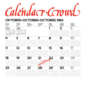 Calendar Crowd - Perfect Hideaway Ep