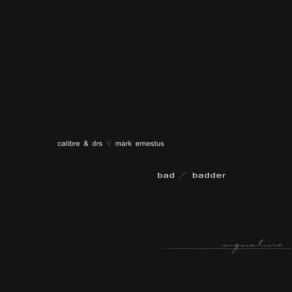 Calibre & DRS vs. Mark Ernestus - Bad & Badder [full colour sleeve] (Back)