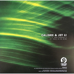 Calibre feat. Jet Li - Push Through It // Trees In The Wind (Back)