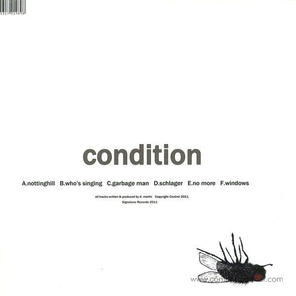 Calibre - Condition + CD (Repress 2017) (Back)