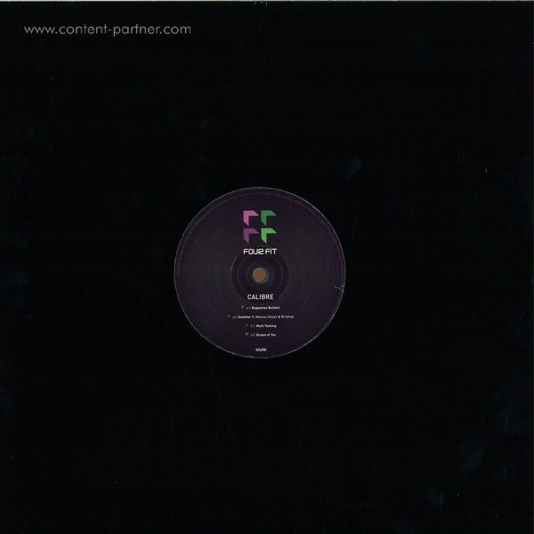 Calibre - Fourfit EP 4 (Back)