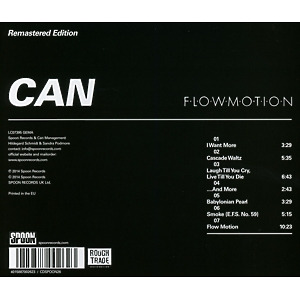 Can - Flow Motion (Remastered) (Back)