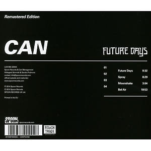 Can - Future Days (Remastered) (Back)