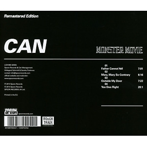 Can - Monster Movie (Remastered) (Back)