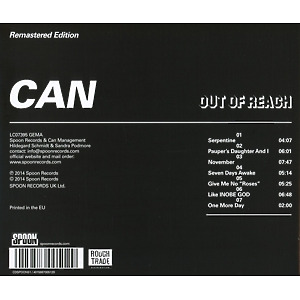 Can - Out Of Reach (Remastered) (Back)