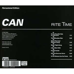 Can - Rite Time (Remastered) (Back)
